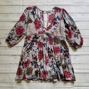 JODIFL   Floral Cutout Dress